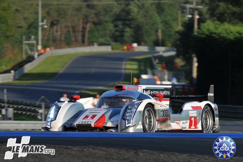 Los campeones también fueron los primeros en hacer ganar un híbrido en Le Mans 2012.