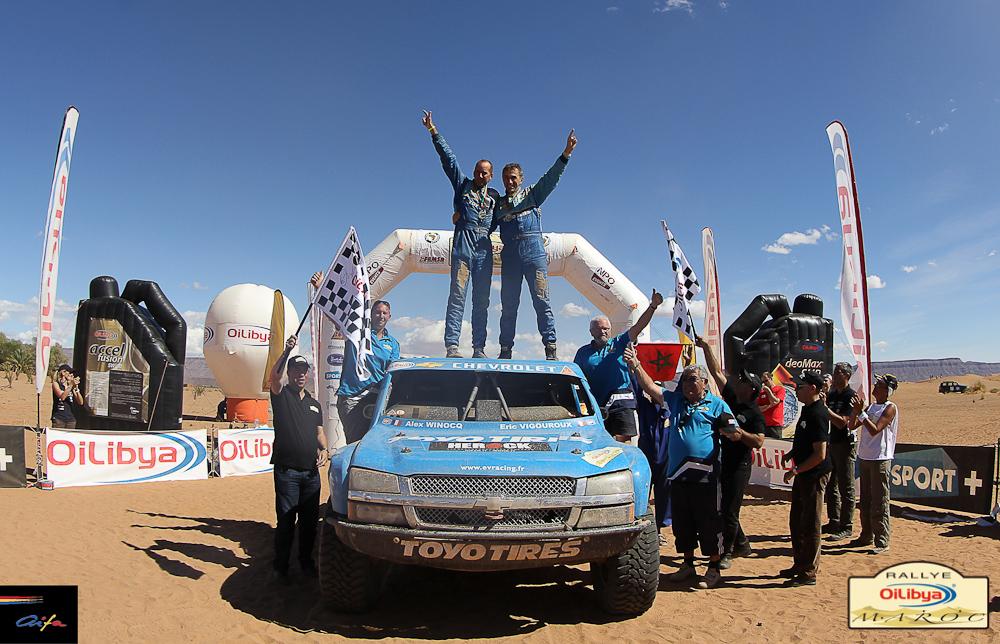 Primera gran coronación para Vigoroux y su Trophy Truck