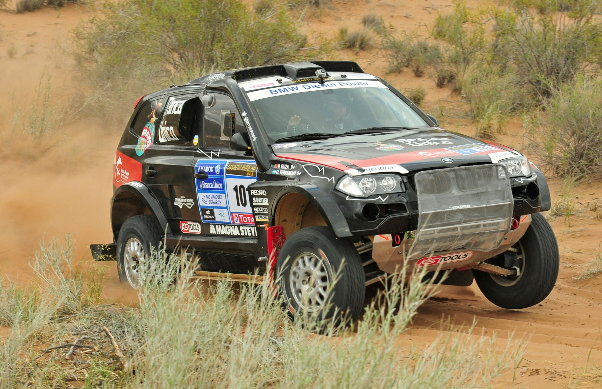 Terranova ganó antes el Litoral, ahora el Ruta 40, y lo espera el Dakar