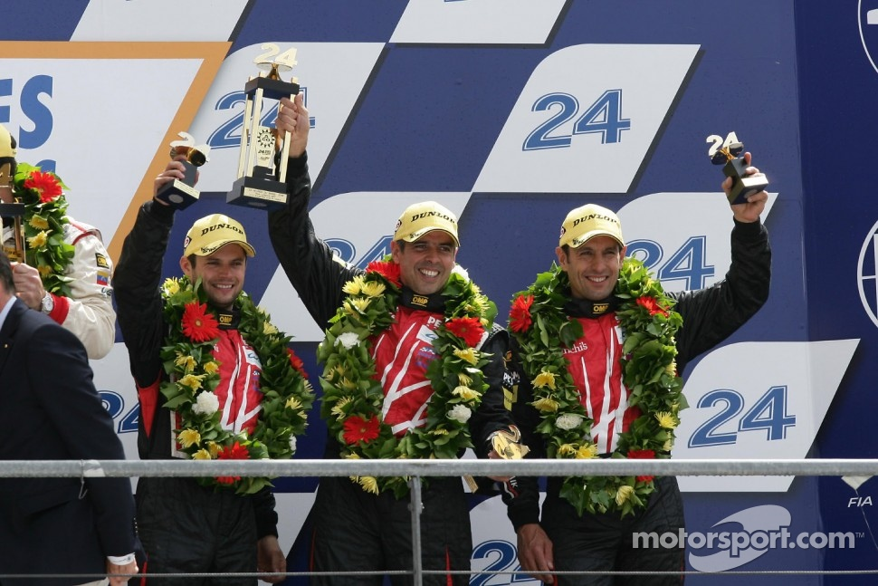 Uno de los podios previos de Luis Perez Companc, fue en LeMans...