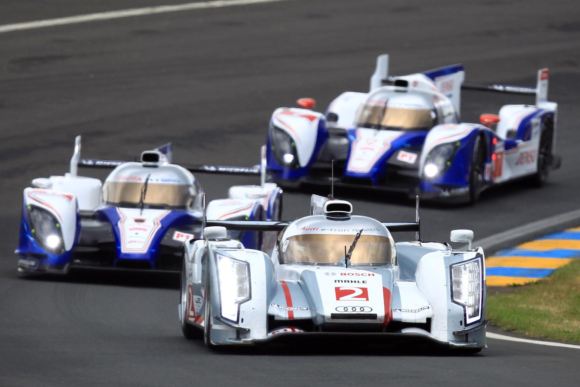 Además de Audi y Porsche, en Le Mans 2014 también estará Toyota.