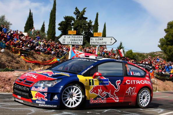 Un Citroen C4 WRC como este espera a Kubica para dos rallies europeos.