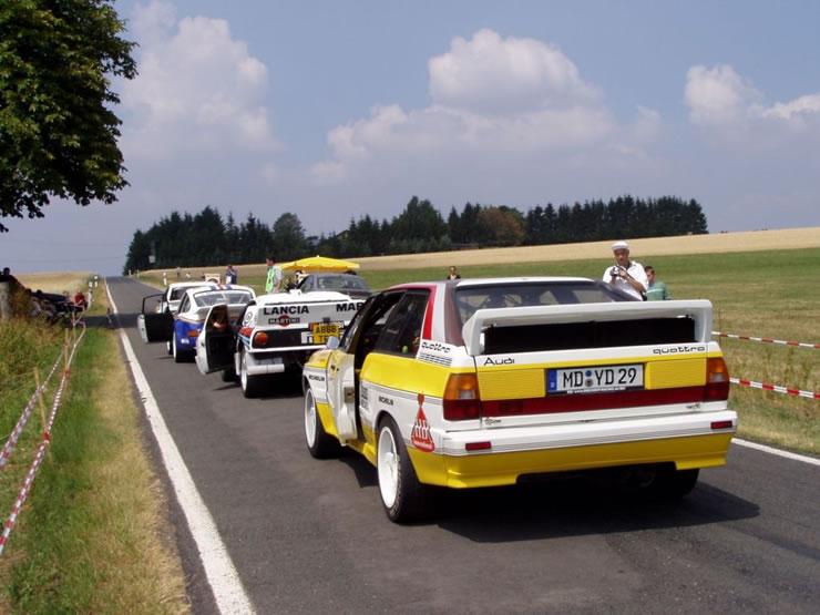 Audi Quattro y más?Tradición y clásicos para homenajear a la historia del auto.