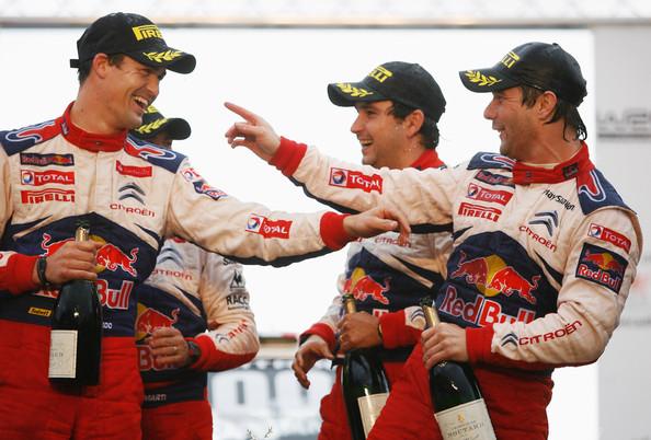 Sordo y Loeb: antes rivales en el mismo equipo, ahora compartirán el mismo auto.