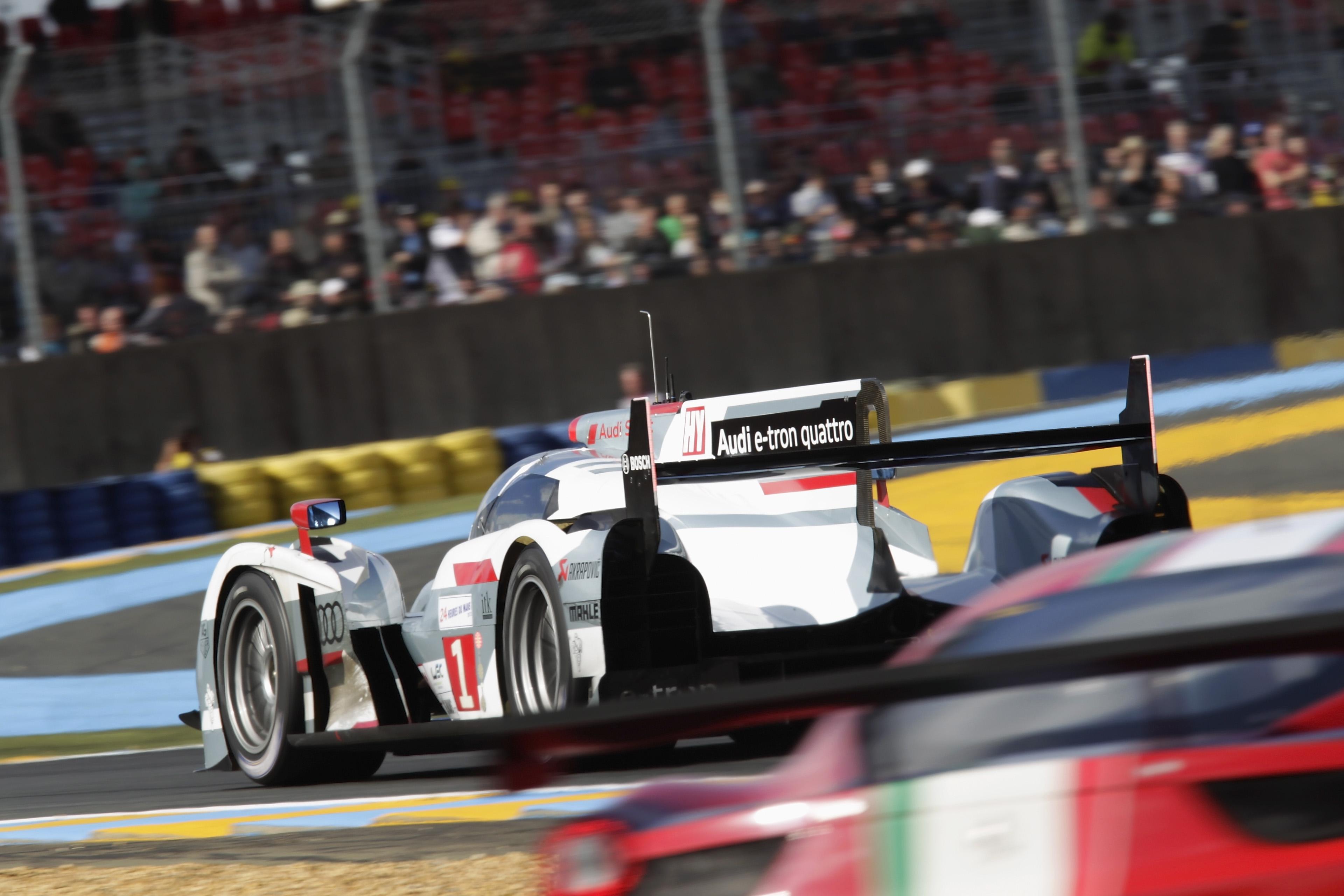 Triunfo consagratorio en Le Mans 2012. Fue en la segunda presentación del R18 e-tron quattro. Habría más?