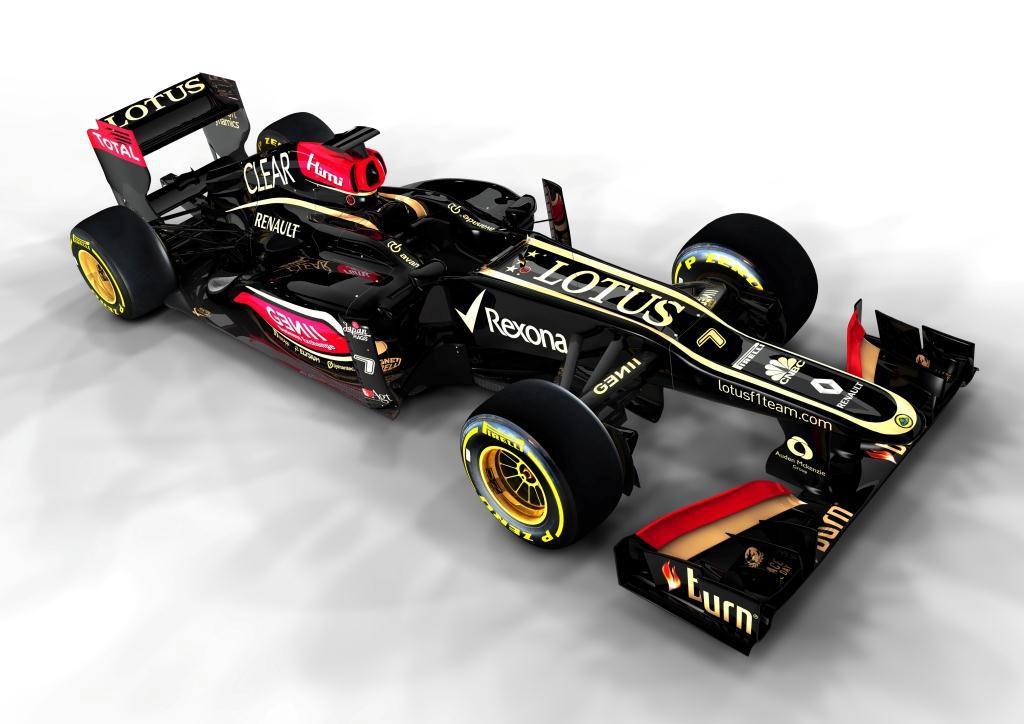 El nuevo Lotus E21 seguirá equipado con el motor Renault V8 de 2.4 litros.