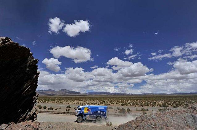 Estreno en victoria-Dakar para Karginov. Que lo consolida en el cuarto lugar en la general.