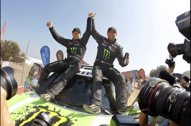 Peterhansel-Cottret, ganadores en Autos. Es el triunfo nº11 de Peterhansel en Dakar, impresionante...