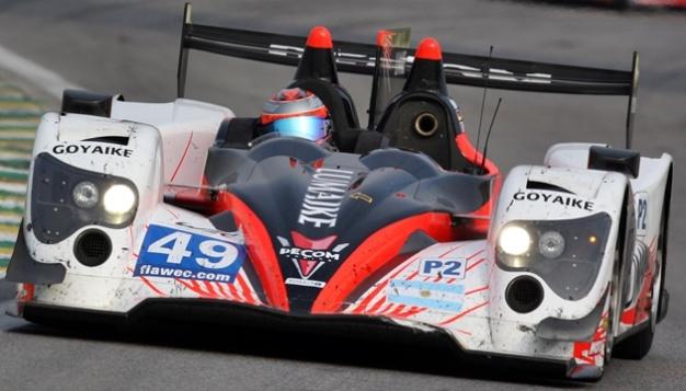 El Oreca 03-Nissan que Luis Perez Companc usará en las próximas 24 horas de Le Mans.