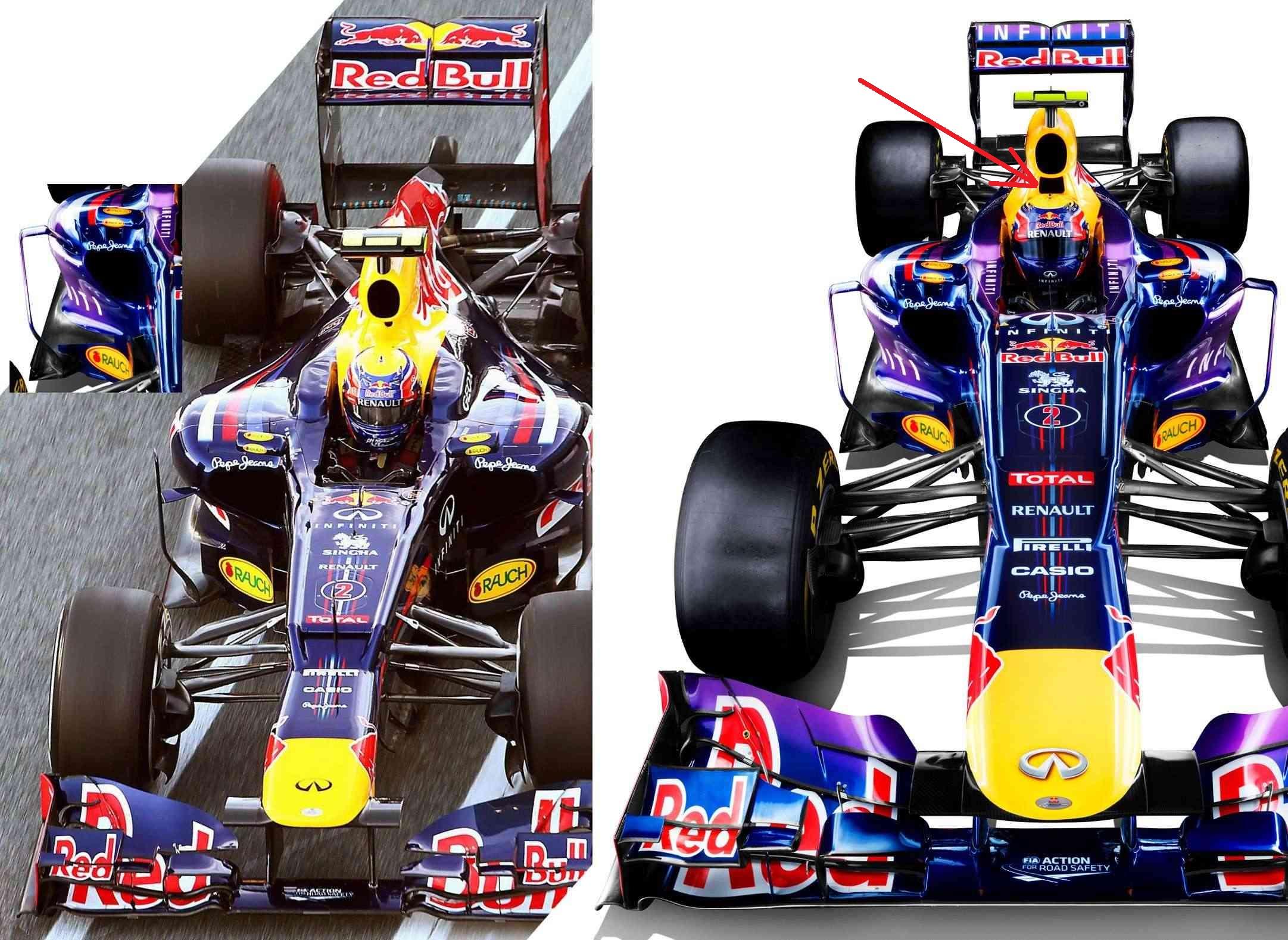 Vettel y Webber descubren el nuevo Red Bull en la sede de Milton Keynes. En horas, comenzarán a probar en Jerez.