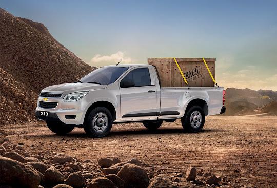 La nueva alternativa, le brinda a la S10 una mayor capacidad (hasta 1.300 kilos) y volumen de carga.