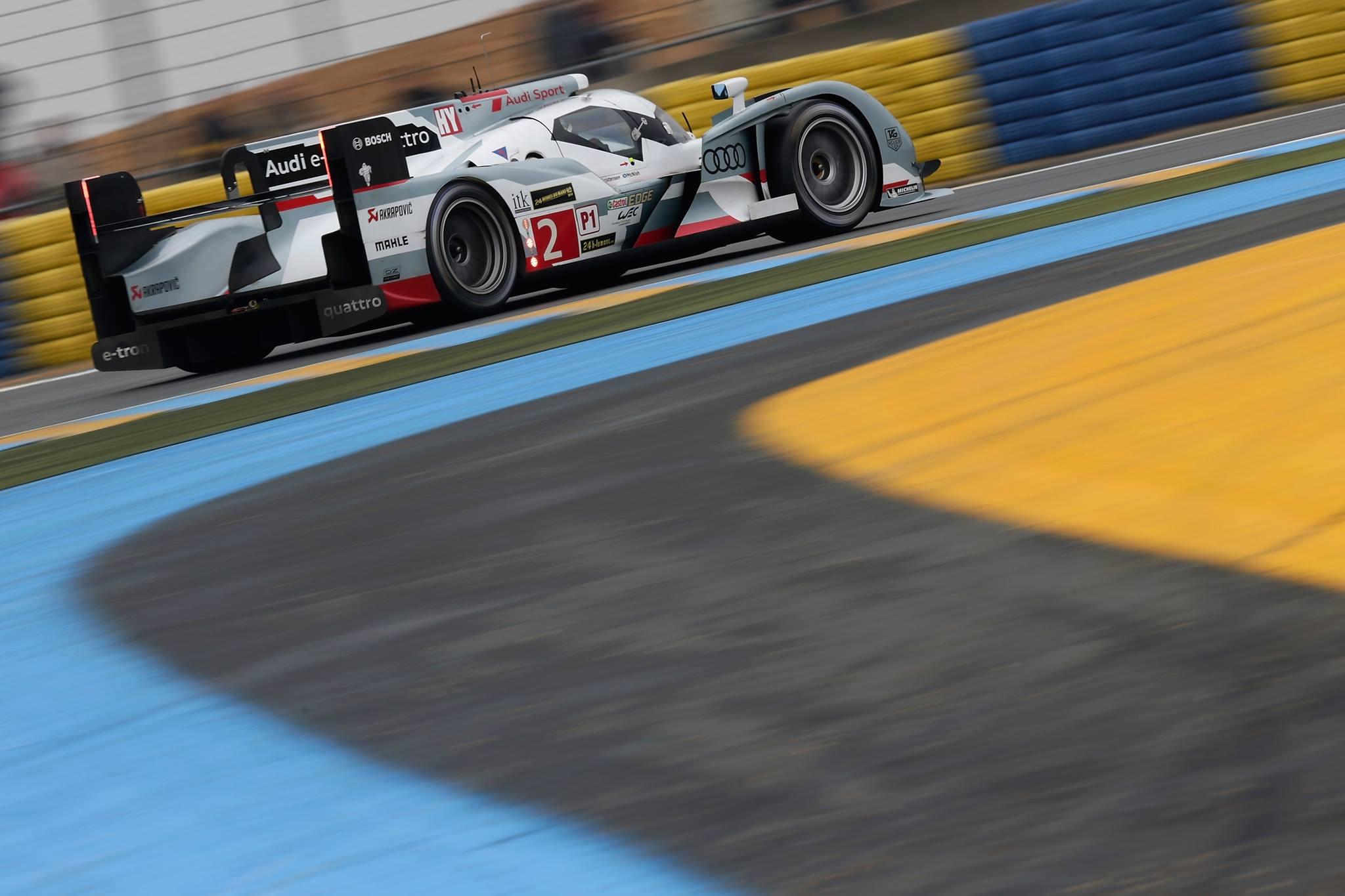 El Audi ganador apenas sufrió una pinchadura en carrera y punteó en las últimas 16 horas?