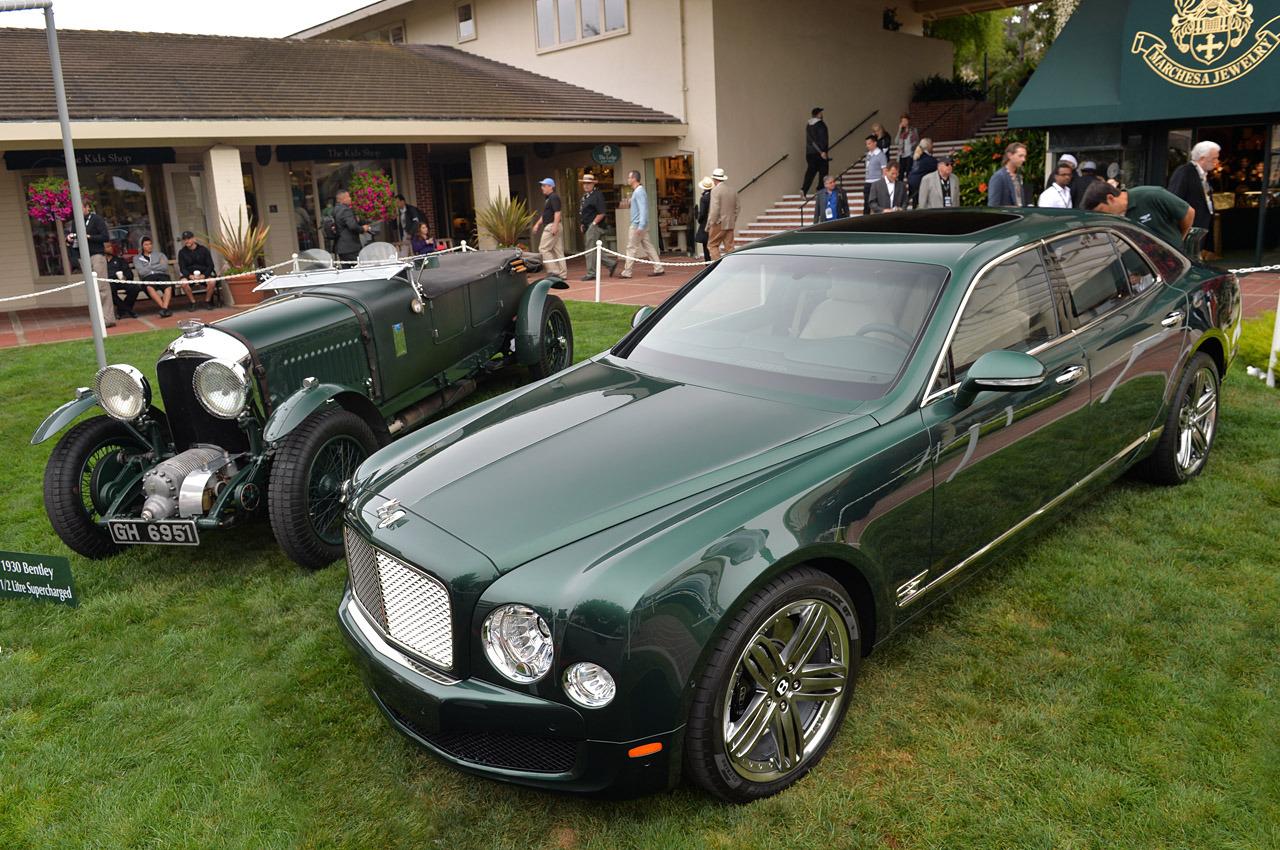 Bentley Mulsanne Le Mans Limited Edition y uno de los exitosos modelos de la marca en los 20 en Le Mans.