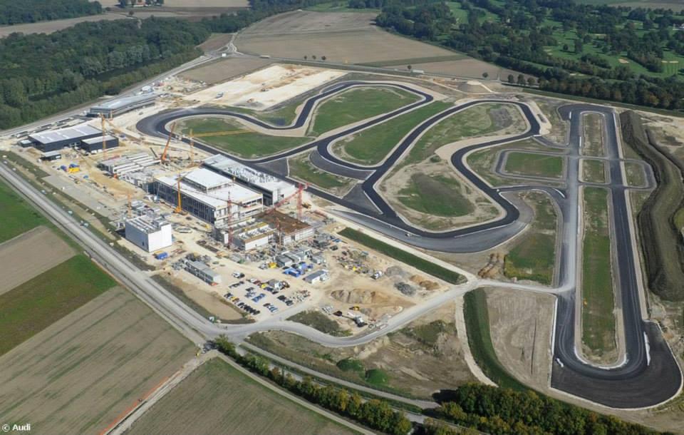 El complejo ADEC en Neuburg, a 25 kilómetros de Ingolstadt, tiene varias alternativas de circuitos.