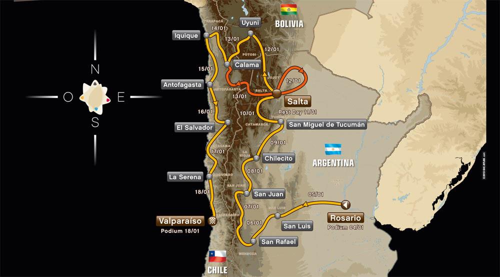 Orly Terranova, compañero de Al-Attiyah en Mini y el argentino más destacado en la actividad...