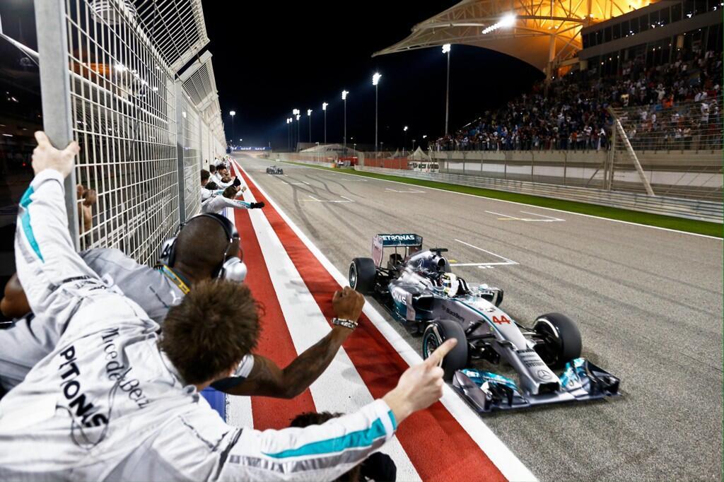Segunda victoria en 2014 de Hamilton. Gran trabajo del inglés que se postula como candidato a la corona...