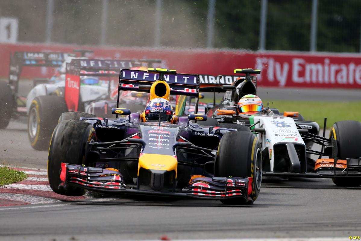 Ricciardo, Pérez, Vettel y Massa, en cerrado pelotón y a la caza de Rosberg, solo el australiano lo superaría?