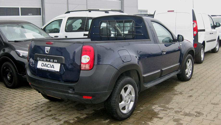 Formato muy compacto para la Duster pick up. En algunos mercados, será rotulada Dacia y en otros, Renault...