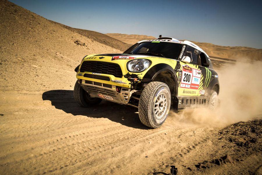 Roma-Perin y un buen ensayo del X-raid preparando el Dakar 2015...