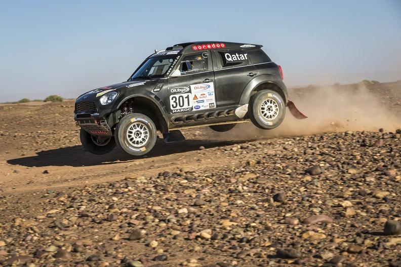 """Tal como en su retorno victorioso a Mini en el último Rally de Marruecos, Al Attiyah volverá a subirse a un Countryman para la máxima prueba de las especialidad. Una carrera que es """"un campeonato en 15 días""""..."""