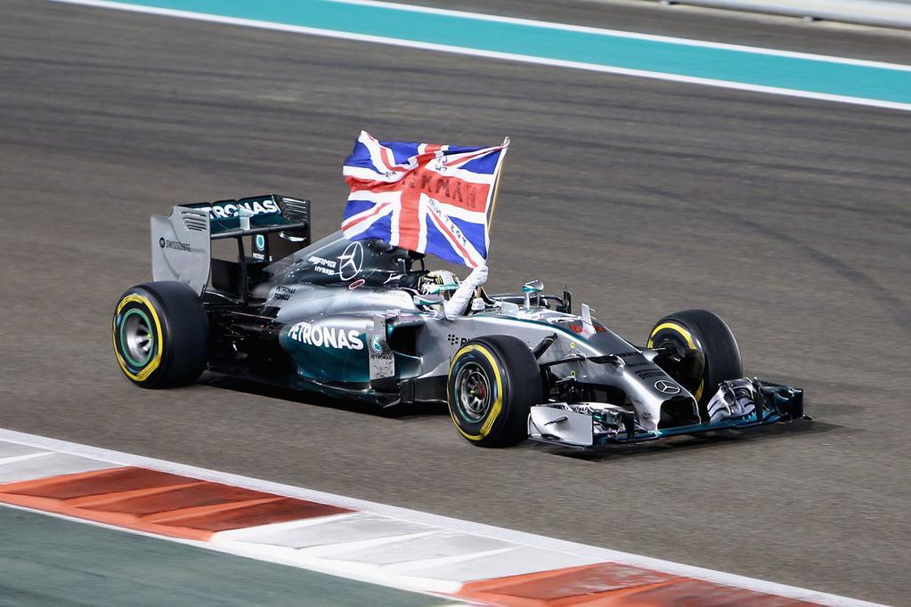 Victoria y título para Hamilton en Abu Dhabi...