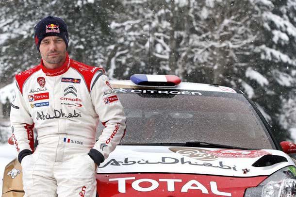 Arriba: Loeb volverá al WRC, aunque solo para Montecarlo y para el lanzamiento de DS como la marca que representará a PSA en la especialidad... Abajo: En el año de su despedida, 2013, Loeb-Elena eligieron las carreras donde participar y una de ellas fue Montecarlo, donde doblegaron nada menos que a Ogier...