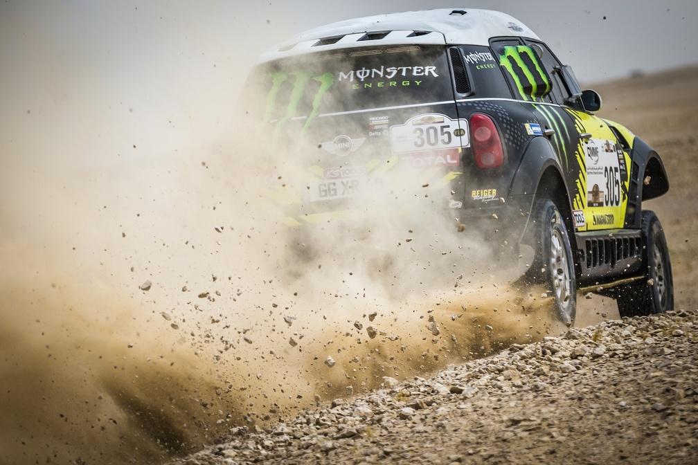 Rumbo a su primer Dakar ganado en Autos...