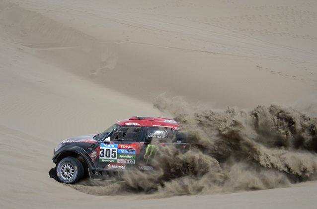 Orlando Terranova mantuvo el invicto de Mini en etapas ganadas en este Dakar 2015. Cumple con su rol en el equipo y devuelve victorias, nada mejor para la marca...
