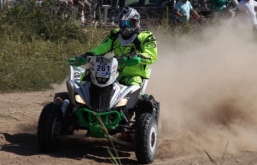 Excelente trabajo de Gonzalez Ferioli, el joven de 19 años ganó su primera etapa-Dakar y se afianzó en el cuarto lugar...