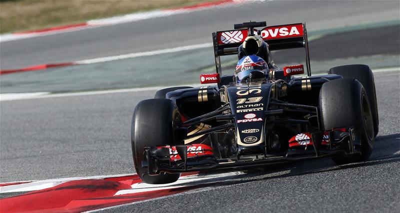 Utilizando neumáticos superblandos, el venezolano Maldonado y su Lotus, fueron los más veloces hoy en Barcelona. Lograron el mejor registro absoluto de estas pruebas que finalizan mañana...