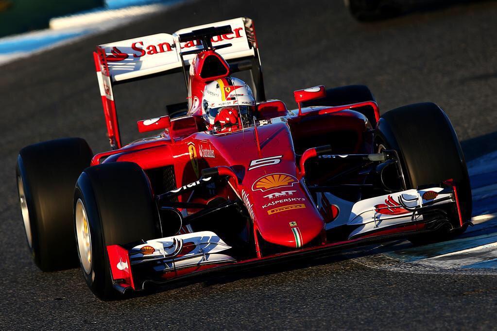 Sebastian Vettel fue el más veloz debutando con la Ferrari SF15-T. Su tiempo fue muy bueno en relación a los antecedentes de la categoría en el escenario español...