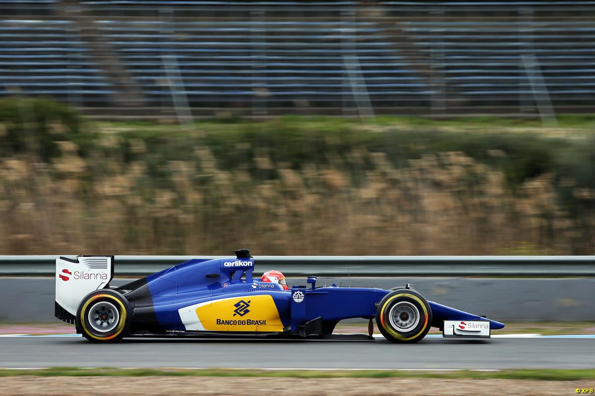 Calzando neumáticos blandos en su Sauber, el debutante Felipe Nasr, quedó al tope en la jornada de hoy en Jerez...