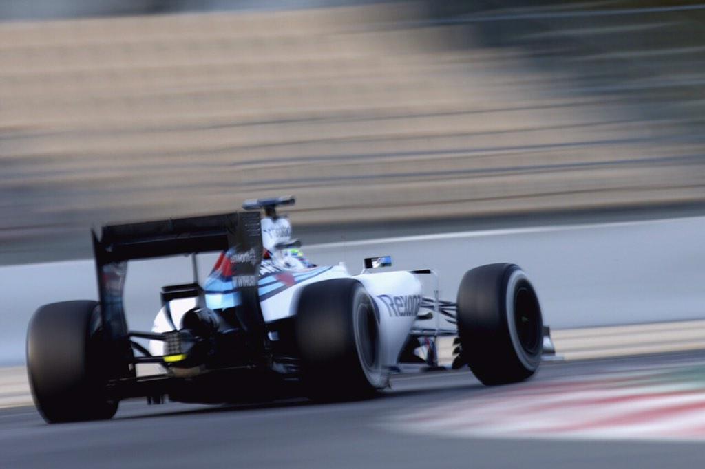 La mayor velocidad- punta fue para el Williams-Mercedes de Massa: 331,454 km/h...