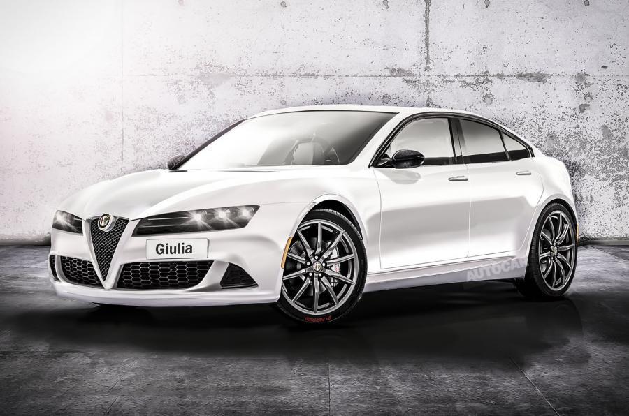 Así será, según interpretación de la inglesa Autocar, el nuevo Alfa Romeo Giulia...