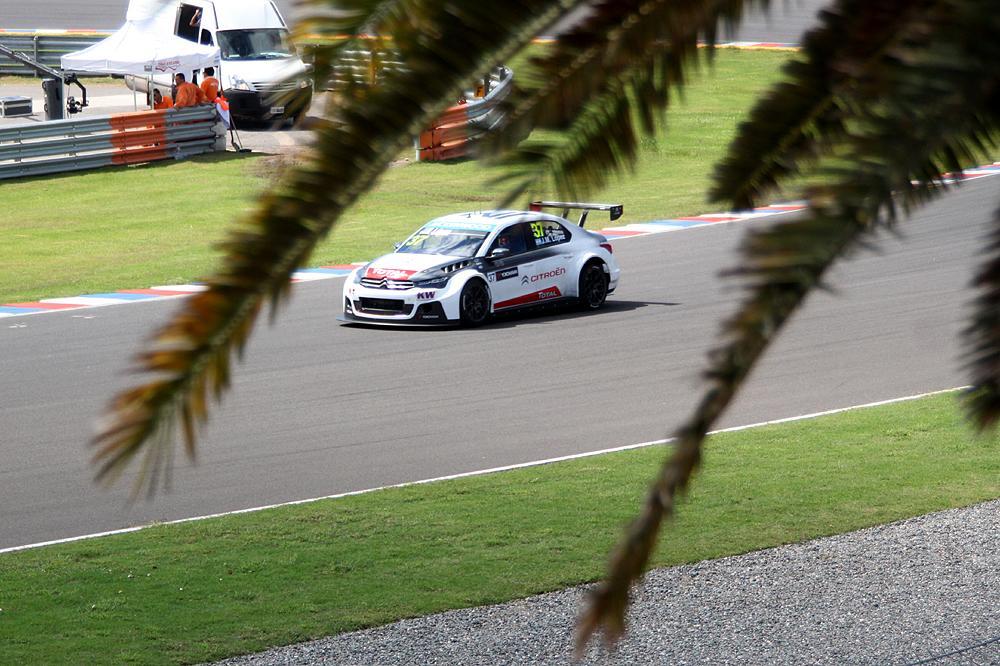 En una de sus pistas favoritas, López marcó sensibles diferencias. Aquí, en 2014, ganó las dos carreras disputadas...