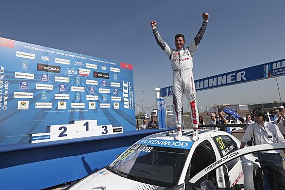 López siempre cerca del podio...Buena sumatoria para sacar un poco más de ventaja en el torneo sobre su compañero Loeb, en el marco de un dominio abrumador de Citroen...