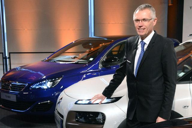 Carlos Tavares, CEO de PSA Peugeot-Citroen...