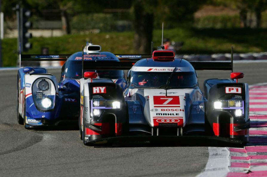 El Audi vencedor de la Batalla de Silverstone, buen antecedente para 2015...