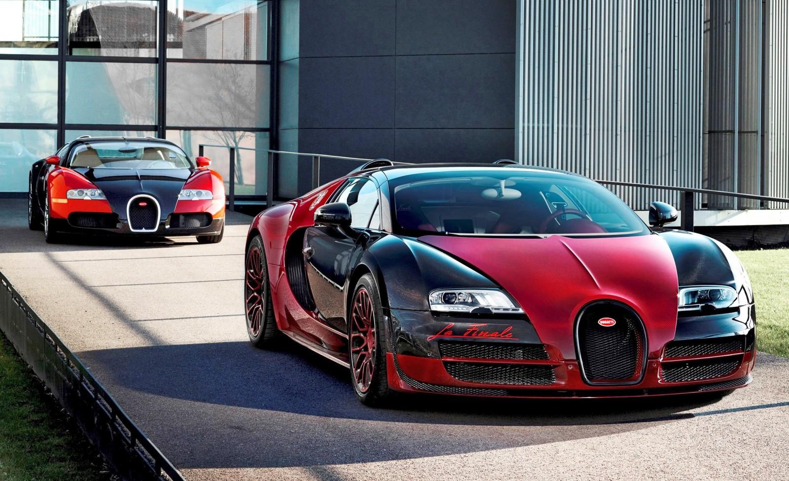 """Escoltado por el nº1, sale de fábrica el Veyron nº450. El primero y """"La Finale""""..."""