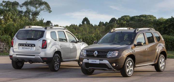 Los Renault Duster II...