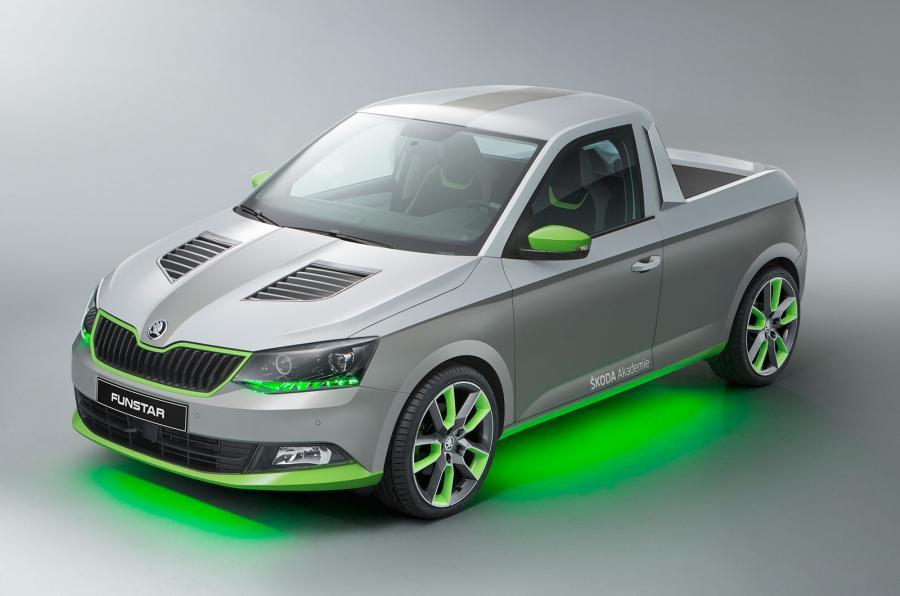 Creativo y atrevido diseño donde el verde característico de la marca acompaña en todos los sectores. Nótese las llantas y su esquema bicolor...