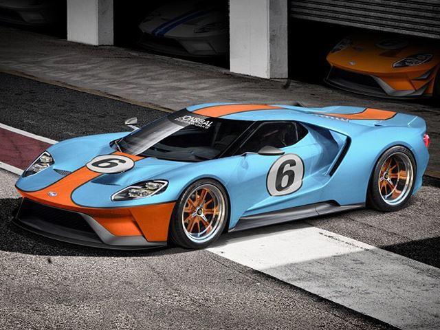 Así podría verse un nuevo Ford GT alistado para las 24 Horas...