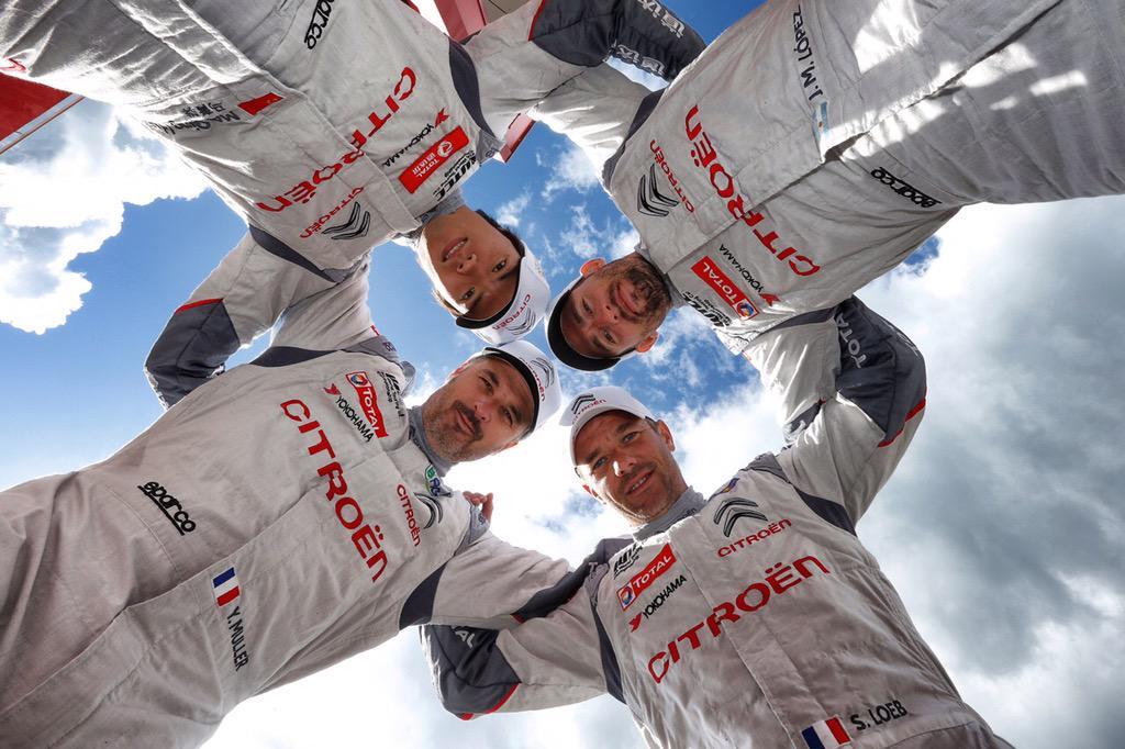 El cuarteto Citroen se agrupó en el torneo, con la única intervención de Monteiro (4º) que hoy ganó la segunda en Moscú...