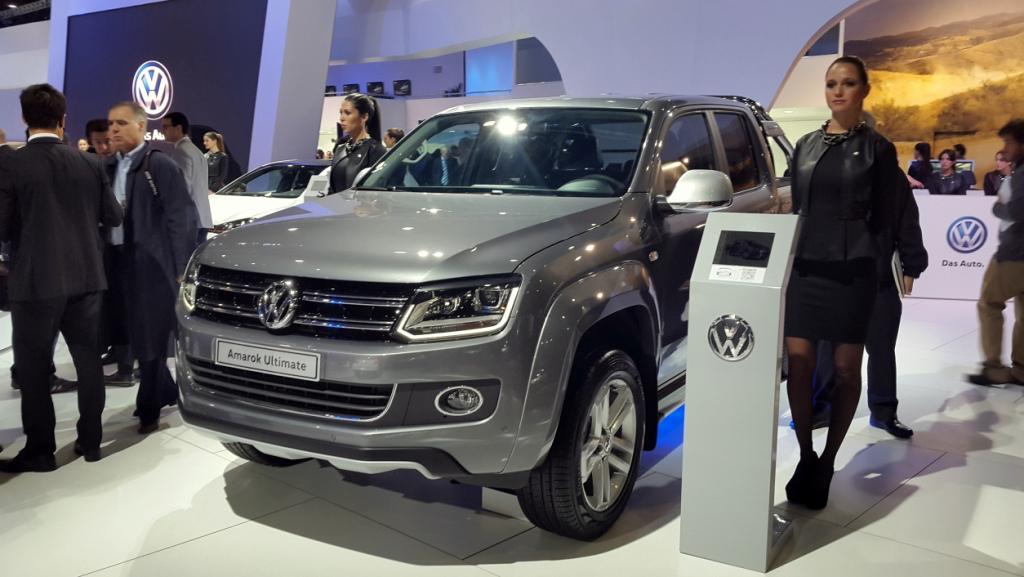VW Amarok Ultimate, producida en Pacheco, a nivel europeo...