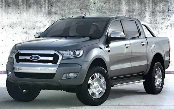 La nueva Ford Ranger versión 2016...