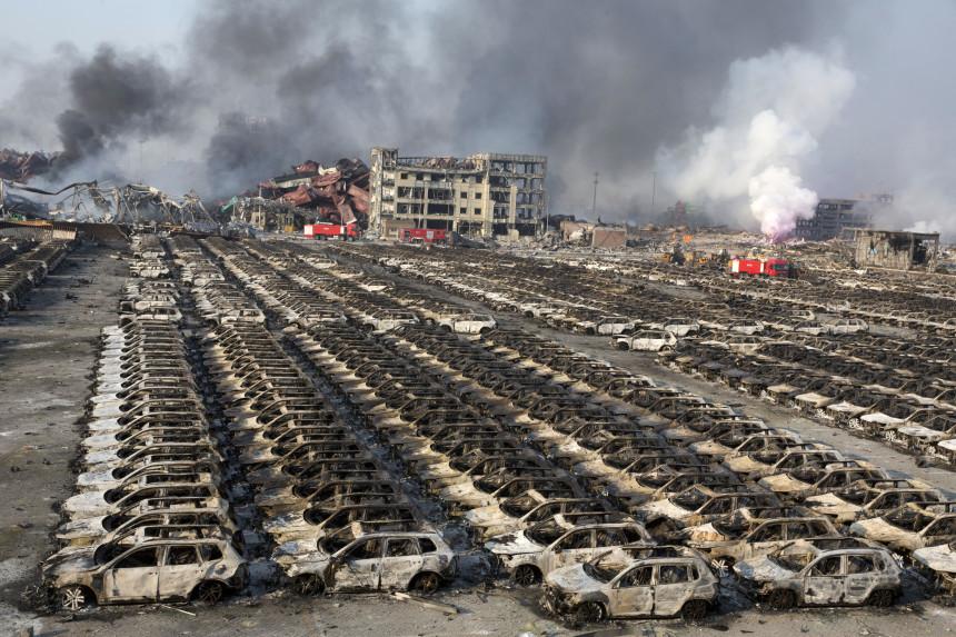 VW fue una de las empresas más afectadas por la tragedia china...