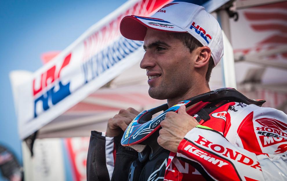 Benavides suma experiencia para el Dakar 2017...