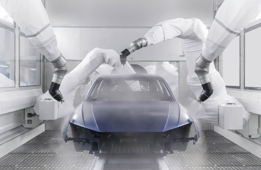Audi Ingolstadt: Audi A4/ A5 topcoat paint shop