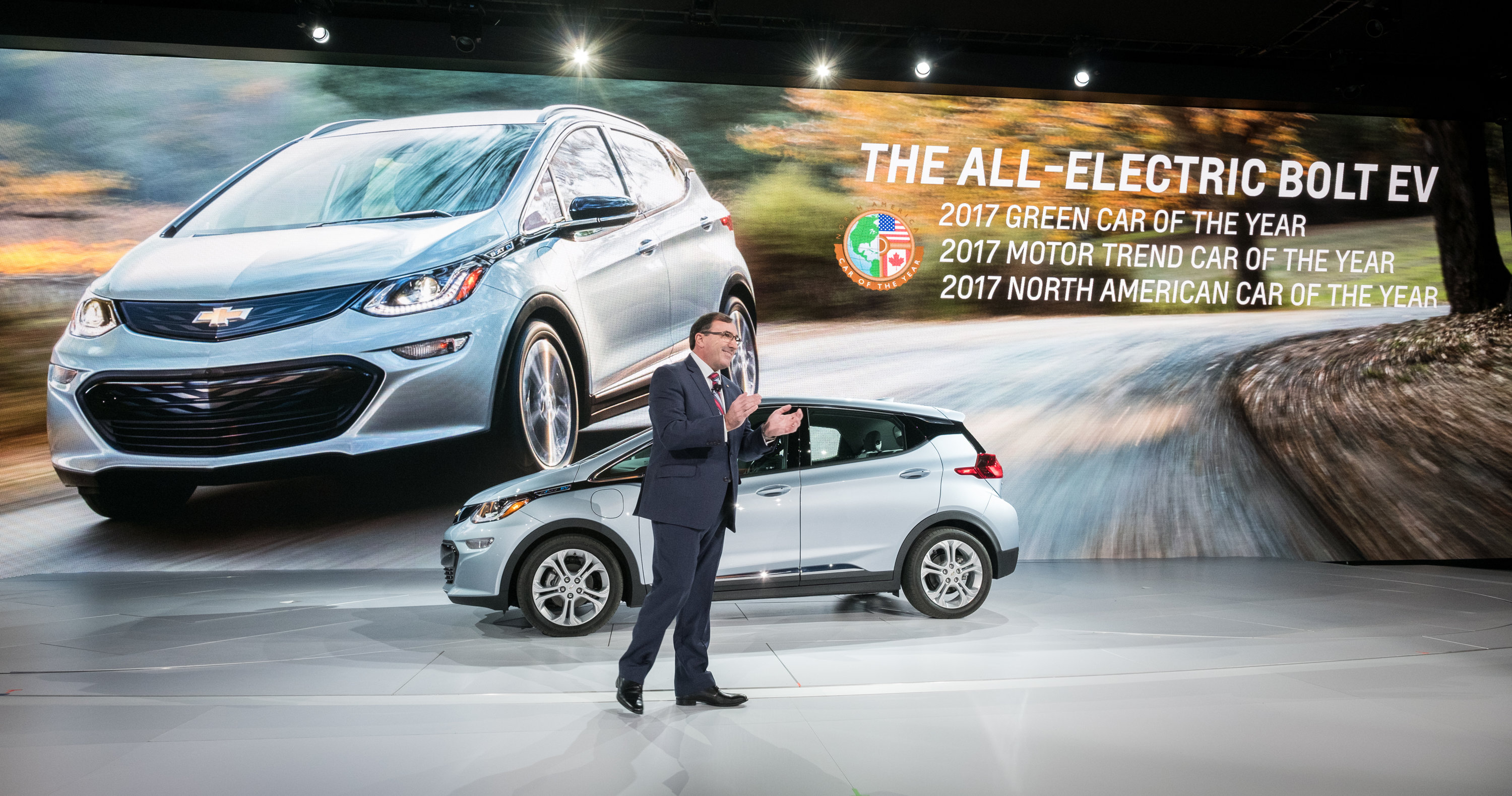 Chevrolet Bolt EV Names North American Car of the Year