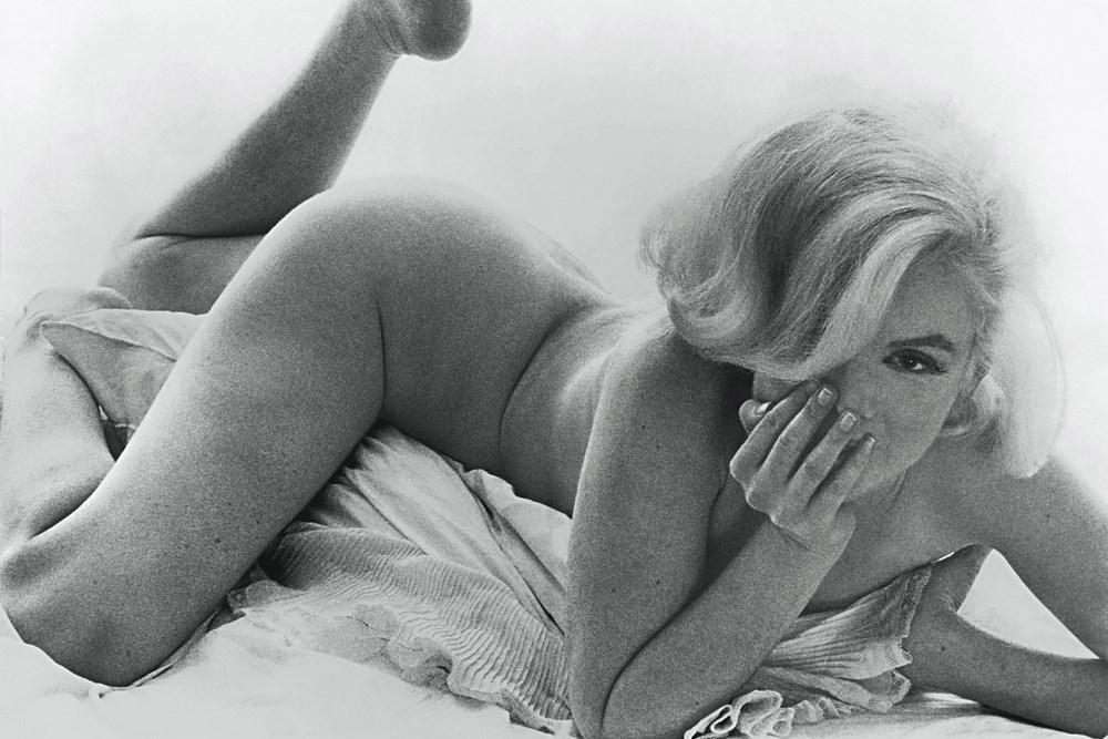 Marilyn_Monroe_Reclining Bed ©The Bert Stern TrustCourtesy Staley-Wise Gallery New York [copia]